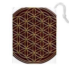 Flower Of Life Drawstring Pouches (XXL)