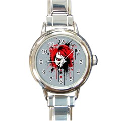 Good Guys Round Italian Charm Watch
