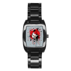 Good Guys Stainless Steel Barrel Watch