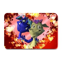 Ove Hearts Cute Valentine Dragon Plate Mats