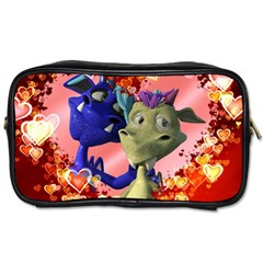Ove Hearts Cute Valentine Dragon Toiletries Bags