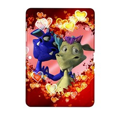 Ove Hearts Cute Valentine Dragon Samsung Galaxy Tab 2 (10 1 ) P5100 Hardshell Case