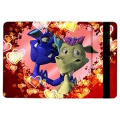 Ove Hearts Cute Valentine Dragon iPad Air 2 Flip