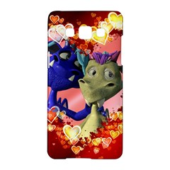 Ove Hearts Cute Valentine Dragon Samsung Galaxy A5 Hardshell Case