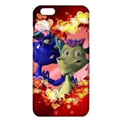 Ove Hearts Cute Valentine Dragon iPhone 6 Plus/6S Plus TPU Case