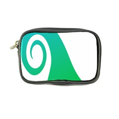 Line Green Wave Coin Purse