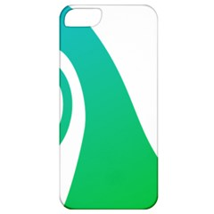 Line Green Wave Apple iPhone 5 Classic Hardshell Case