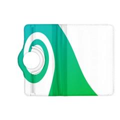 Line Green Wave Kindle Fire HD (2013) Flip 360 Case