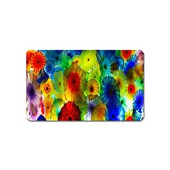 Green Jellyfish Yellow Pink Red Blue Rainbow Sea Magnet (name Card)
