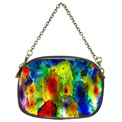 Green Jellyfish Yellow Pink Red Blue Rainbow Sea Chain Purses (one Side)