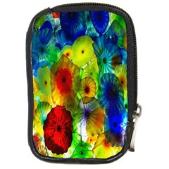 Green Jellyfish Yellow Pink Red Blue Rainbow Sea Compact Camera Cases