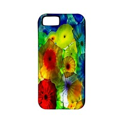 Green Jellyfish Yellow Pink Red Blue Rainbow Sea Apple iPhone 5 Classic Hardshell Case (PC+Silicone)
