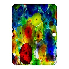 Green Jellyfish Yellow Pink Red Blue Rainbow Sea Samsung Galaxy Tab 4 (10.1 ) Hardshell Case