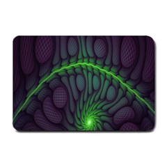 Light Cells Colorful Space Greeen Small Doormat