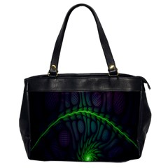 Light Cells Colorful Space Greeen Office Handbags