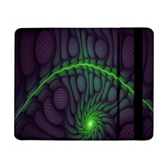 Light Cells Colorful Space Greeen Samsung Galaxy Tab Pro 8.4  Flip Case