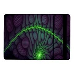 Light Cells Colorful Space Greeen Samsung Galaxy Tab Pro 10.1  Flip Case