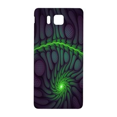 Light Cells Colorful Space Greeen Samsung Galaxy Alpha Hardshell Back Case