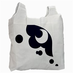 Month Blue Recycle Bag (Two Side)