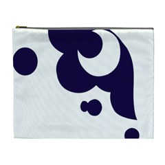 Month Blue Cosmetic Bag (XL)