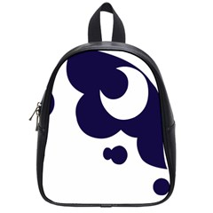 Month Blue School Bags (Small)