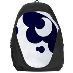 Month Blue Backpack Bag
