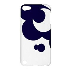 Month Blue Apple iPod Touch 5 Hardshell Case