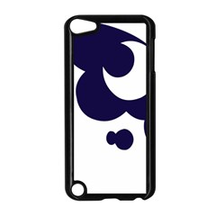 Month Blue Apple iPod Touch 5 Case (Black)