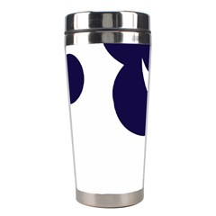 Month Blue Stainless Steel Travel Tumblers