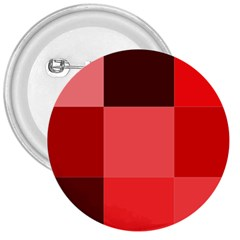 Red Flag Plaid 3  Buttons