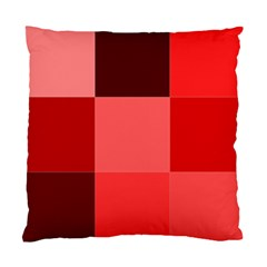 Red Flag Plaid Standard Cushion Case (One Side)