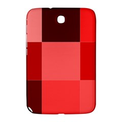 Red Flag Plaid Samsung Galaxy Note 8.0 N5100 Hardshell Case