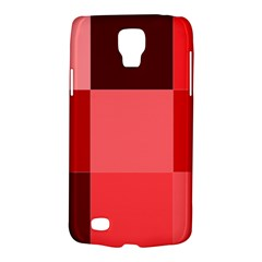 Red Flag Plaid Galaxy S4 Active