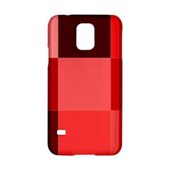 Red Flag Plaid Samsung Galaxy S5 Hardshell Case
