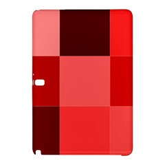 Red Flag Plaid Samsung Galaxy Tab Pro 10.1 Hardshell Case