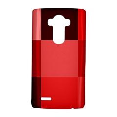 Red Flag Plaid LG G4 Hardshell Case