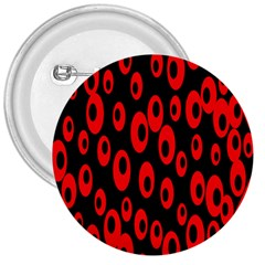 Scatter Shapes Large Circle Black Red Plaid Triangle 3  Buttons