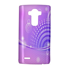 Purple Circle Line Light LG G4 Hardshell Case