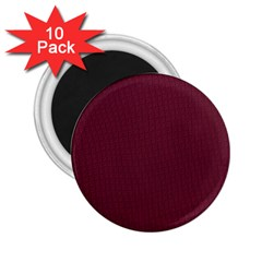 Camouflage Seamless Texture Maps Red Beret Cloth 2 25  Magnets (10 Pack)