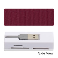 Camouflage Seamless Texture Maps Red Beret Cloth Memory Card Reader (Stick)