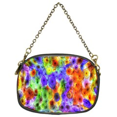 Green Jellyfish Yellow Pink Red Blue Rainbow Sea Purple Chain Purses (One Side)