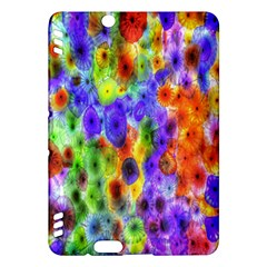 Green Jellyfish Yellow Pink Red Blue Rainbow Sea Purple Kindle Fire HDX Hardshell Case