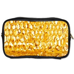 Honeycomb Fine Honey Yellow Sweet Toiletries Bags 2-Side