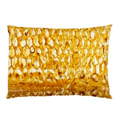 Honeycomb Fine Honey Yellow Sweet Pillow Case (two Sides)
