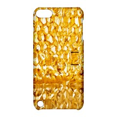 Honeycomb Fine Honey Yellow Sweet Apple iPod Touch 5 Hardshell Case with Stand