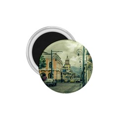 Historic Center Urban Scene At Riobamba City, Ecuador 1.75  Magnets