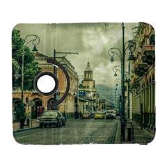 Historic Center Urban Scene At Riobamba City, Ecuador Galaxy S3 (Flip/Folio)