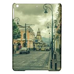 Historic Center Urban Scene At Riobamba City, Ecuador iPad Air Hardshell Cases