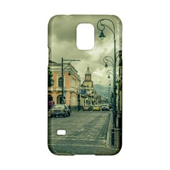 Historic Center Urban Scene At Riobamba City, Ecuador Samsung Galaxy S5 Hardshell Case