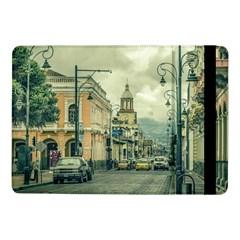 Historic Center Urban Scene At Riobamba City, Ecuador Samsung Galaxy Tab Pro 10.1  Flip Case